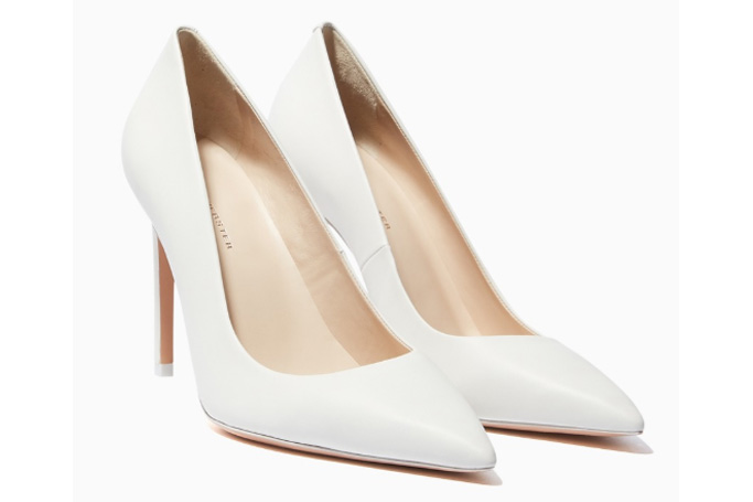 Sophia Webster - White Rio Point-Toe Pumps